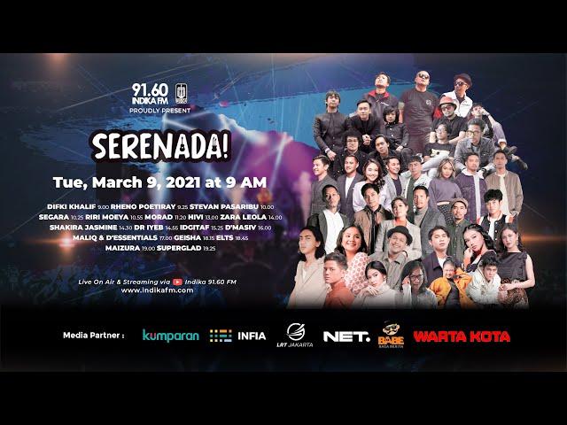 Indika FM - SERENADA! - Spesial Hari Musik Nasional
