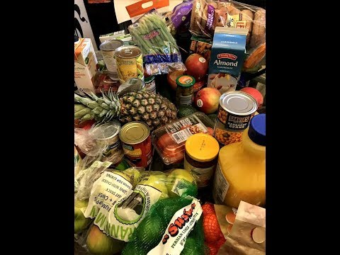 Weight Loss Video Grocery Haul (Lose Weight With Me 2018) Aldis Vegan Shopping Trip Under $100