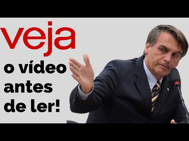 sddefault Entrevista concedida à Veja é gravada na íntegra por Bolsonaro e disponibilizada para quem quiser assistir (veja o vídeo)