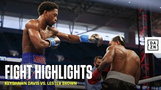 HIGHLIGHTS | Keyshawn Davis vs. Lester Brown
