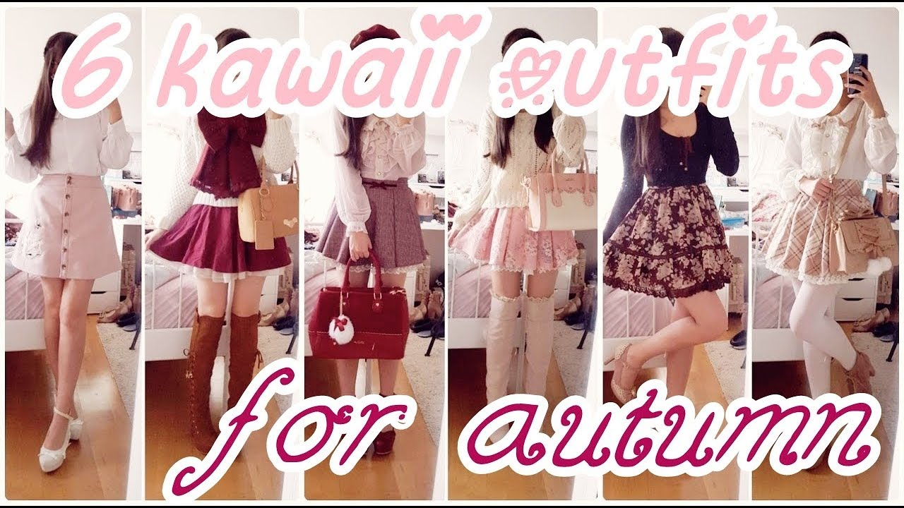 ღ Autum Lookbook - 6 kawaii autumn outfits ღ 7