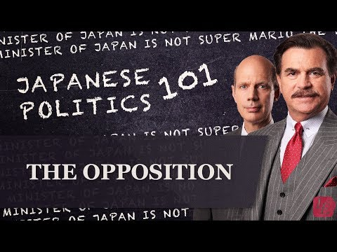 Japanese Politics 101: The Opposition