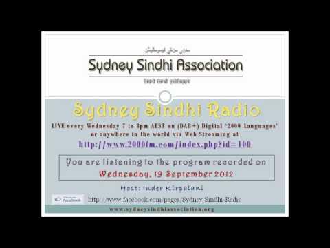 Sydney Sindhi Radio from 19 September 2012