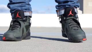 "AIR JORDAN 8 ""TAKE FLIGHT"" REVIEW & ON FEET!"