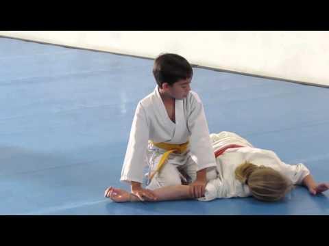 Mateo Orange Belt Test