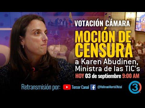 EN VIVO   Moción de Censura MinTIC por el POLÉMICO CONTRATO de conectividad