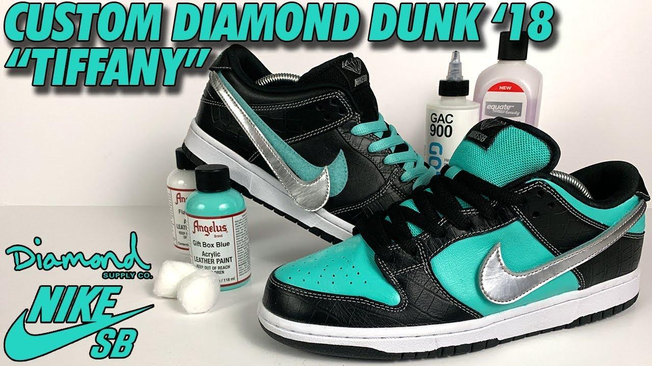 tiffany diamond dunks