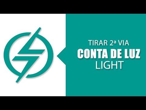 Como Tirar Segunda Via Conta de Luz da Light