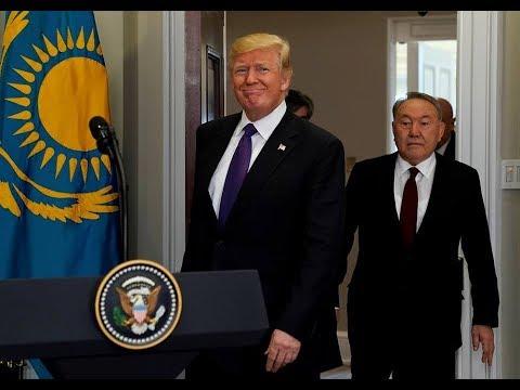 Назарбаев дал понять Трампу, когда он уйдет на пенсию?