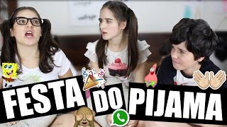 Festa do Pijama Criança Vs. Adolescente - Marina Inspira Ft. Canal do Tutu & Roberta Pupi