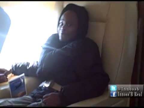 Akon and Innoss'B (Innocent Balume) fly to Florida in private jet