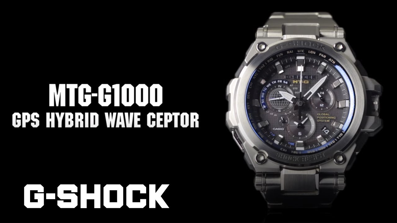 differently 3f402 1057e CASIO G-SHOCK MT-G MTG-G1000 product video