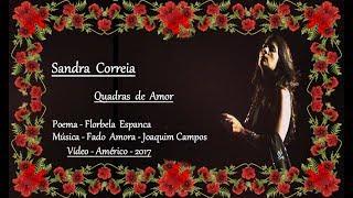 Sandra Correia  _  Quadras de Amor
