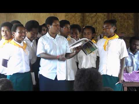 Visit to Papua New Guinea Pt 1 - Marcia McDonald