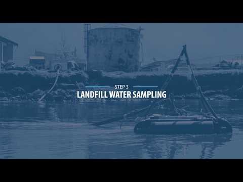 Water Sampling at the Kotlik Landfill and River