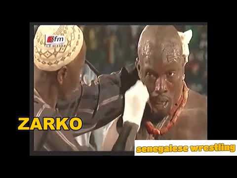 Senegalese Wrestling : Zarko vs Sitteu