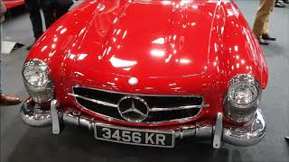 BMW, Mercedes, Ferrari and Bristol: Lancaster Insurance Classic Motor Show 10 Nov 2018 (part 2)