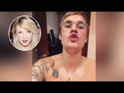 Justin Bieber Sings & Dances To Taylor Swift's 'Trouble' In Insane Video
