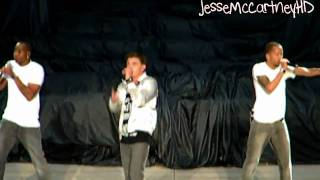 HD - Jesse McCartney - Body Language - Live