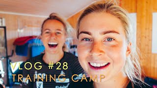 VLOG #28 TRAINING CAMP WITH THE TEAM