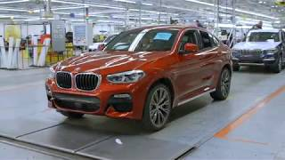 See how the new BMW X4 is being built