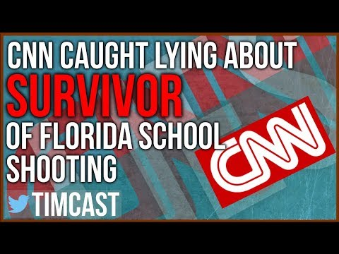 CNN Caught Lying After They Themselves Accused Florida Survivor of Lying.