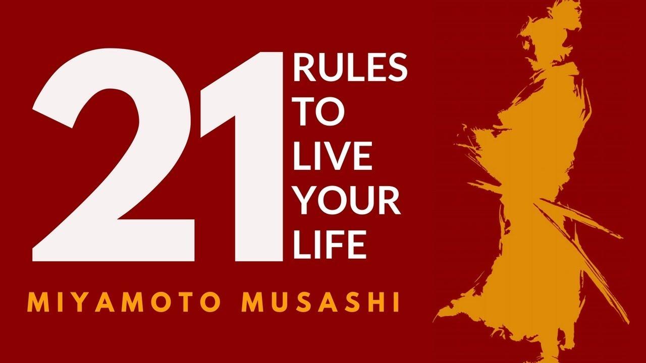 Download MIYAMOTO MUSASHI 宮本武蔵. Dokkodo. The way of walking alone. 21 LIFE PRINCIPLES