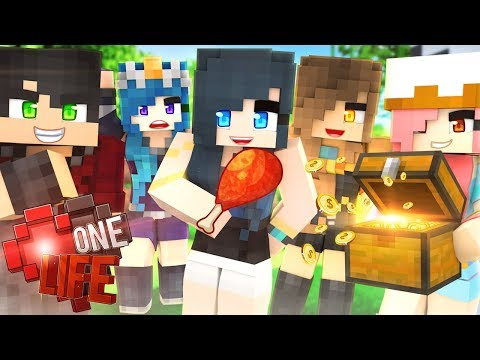 IF WE DIE...WE LOSE EVERYTHING! | Minecraft One Life | Episode 1