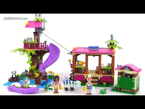 LEGO Friends 41038 Jungle Rescue Base review! - YouTube