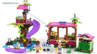 Lego Friends 41038 Jungle Rescue Base Review!