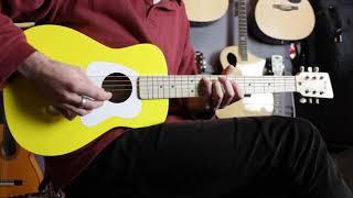 Loog Pro Acoustic VI | 6 string kids guitar | Music Junction