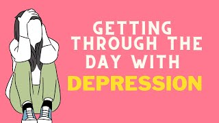 How to get through the day with depression | Mental Health Over Coffee | #depression #mentalhealth