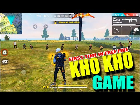 first-time-in-free-fire-kho-kho-match- -freef-ire-funny-rooms- -telugu-gaming-zone
