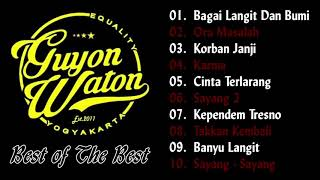 GUYON WATON - Akustik Full Single Best Of The Best