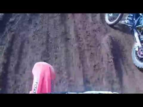 RILEY HILL MX 12/10/14 CRF250 FACE PLANT FAIL