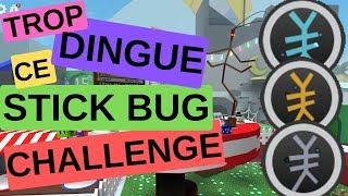 TROP DINGUE this STICK BUG CHALLENGE !!! on BEE SWARM SIMULATOR DE ROBLOX