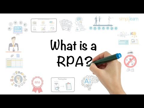 RPA In 5 Minutes | What Is RPA – Robotic Process Automation? | RPA Explained | Simplilearn