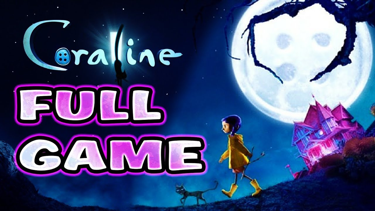 Coraline FULL GAME Walkthrough Longplay (PS2, Wii)