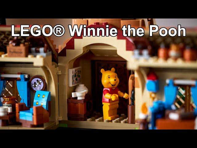 News: LEGO® Winnie the Pooh Set angekündigt! (LEGO® Ideas 21326 18+ Set • Winnie Puh der Bär)