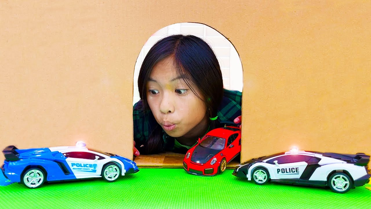 Wendy and Alex Play and Have Fun with New Toy Cars and Playsets | Kids Learn to Play Together