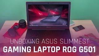ASUS G501 4K Gaming Laptop Unboxing