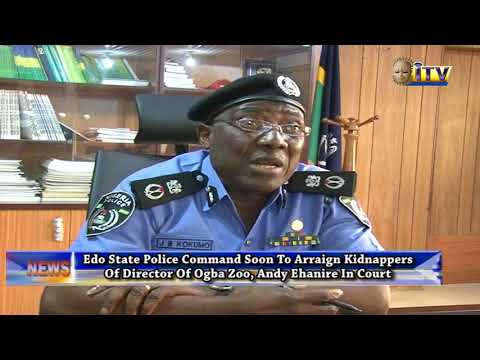 Edo State Police Command Soon To Arraign Kidnappers Of Dir. Of Ogba Zoo, Andy Ehanire