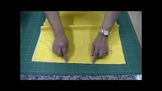 Como Preparar, Passar e Cortar os Tecidos para o Patchwork