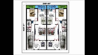 FOR TWO BROTHERS SAPERATE HOUSE PLAN