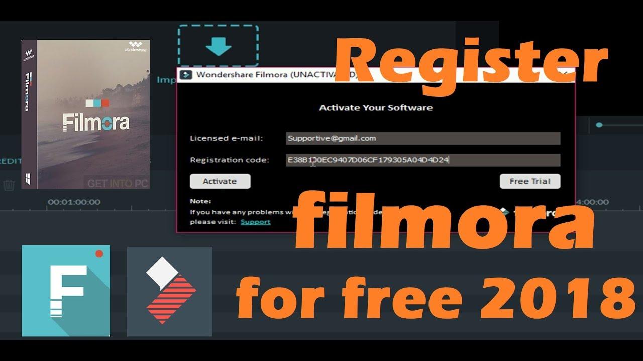 filmora licence key 2018