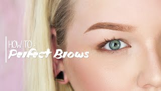 How to get Perfect Brows! ∙ Updated Brow Routine