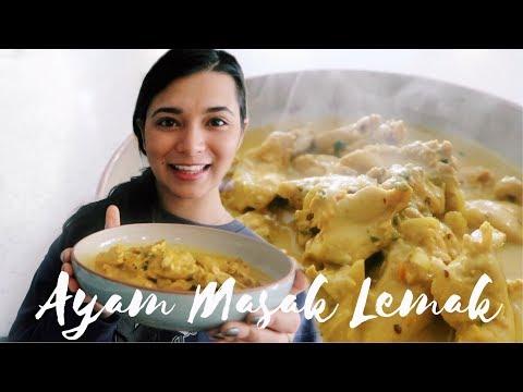 Ayam Masak Lemak | Malaysian Recipe | Athisha Khan
