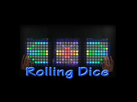 Just A Gent - Rolling Dice (Last Heroes Remix) Triple Launchpad Cover