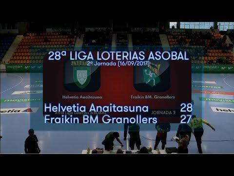 2ªJ Asobal | Anaitasuna - Granollers (28-27)