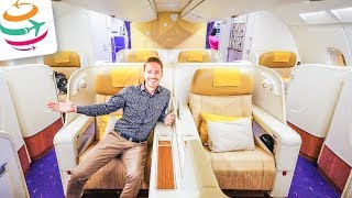 Thai Airways Royal First Class A380 Smooth as silk | GlobalTraveler.TV